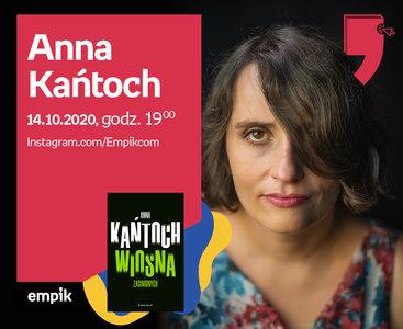 Anna Kańtoch – Spotkanie   Wirtualne Targi Książki