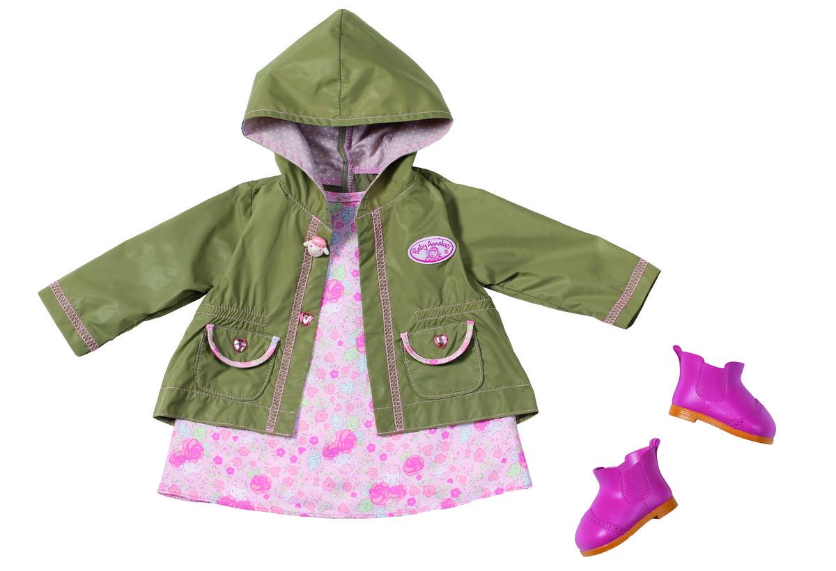 Annabel, ubranka dla lalki na spacer, zestaw - Baby Annabell