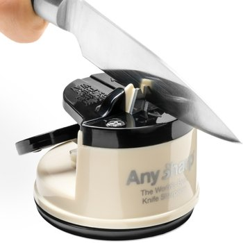 AnySharp, Ostrzałka do noży, Classic, beżowo-czarna-AnySharp
