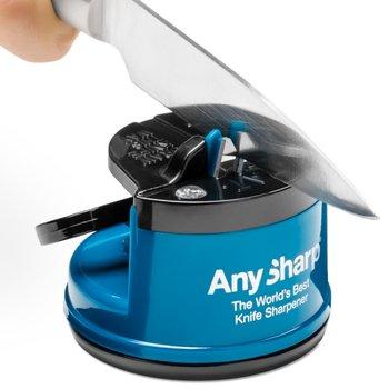 AnySharp, Ostrzałka do noży, Classic, niebiesko-czarna-AnySharp