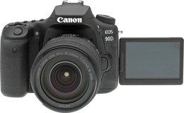 Aparat CANON EOS 90D + Canon EF-S, 18-135 mm, f/3.5-5.6 IS USM Nano
