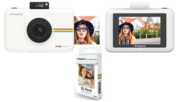 Aparat do fotografii natychmiastowej POLAROID Snap Touch + opakowanie wkładów-Polaroid