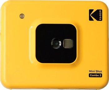 Aparat Kodak Minishot Combo 3 10mp Z Drukarką - żółty-Kodak