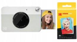 Aparat Kodak Printomatic 5mp + Wkład Papier 20 Szt. - Szary