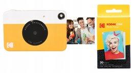 Aparat Kodak Printomatic 5mp + Wkład Papier 20 Szt. - ŻÓŁty