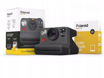 Aparat Natychmiastowy Polaroid Now + Wkład Papier I-type Color / Czarny-Polaroid