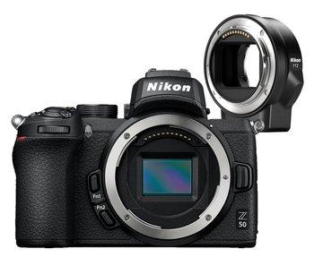 Aparat NIKON Z50 + Adapter FTZ-Nikon