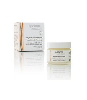 Apeiron, rewitalizujący krem na noc do normalnej i suchej skóry, 50 ml-Apeiron