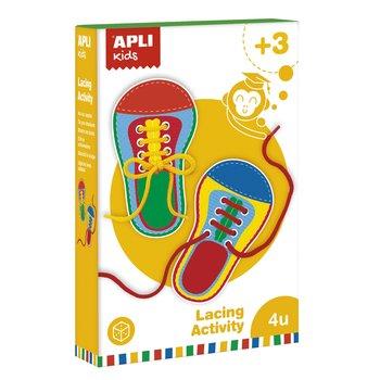 Apli Kids, zestaw do nauki wiązania butów