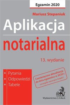 Aplikacja notarialna 2020. Pytania odpowiedzi tabele-Stepaniuk Mariusz