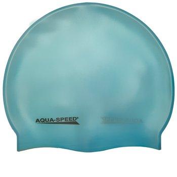 Aqua Speed, Czepek pływacki MEGA, niebieski-Aqua-Speed