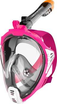 Aqua Speed, Maska do nurkowania pełnotwarzowa, rozmiar L/XL, czarno-różowa-Aqua-Speed