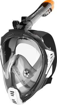 Aqua Speed, Maska do nurkowania pełnotwarzowa, rozmiar L/XL, szaro-czarna-Aqua-Speed