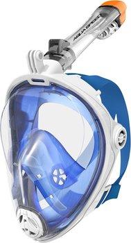 Aqua Speed, Maska do nurkowania pełnotwarzowa, SPECTRA 2.0, biały, rozmiar S/M-Aqua-Speed