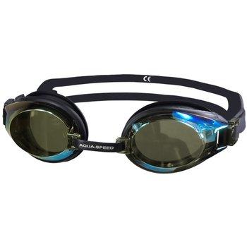 Aqua Speed, Okulary pływackie, Challenge, czarne -Aqua-Speed