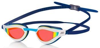 Aqua Speed, Okulary pływackie RAPID MIRROR, granatowy-Aqua-Speed