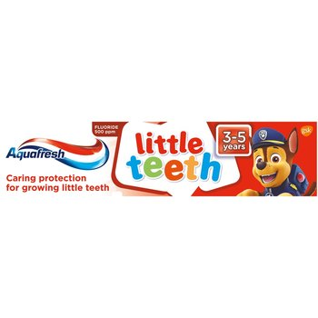 Aquafresh, Little Teeth pasta do zębów Psi Patrol 50ml-Aquafresh