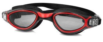 AquaSpeed, Okulary pływackie, Calypso, czerwono-czarne-Aqua-Speed