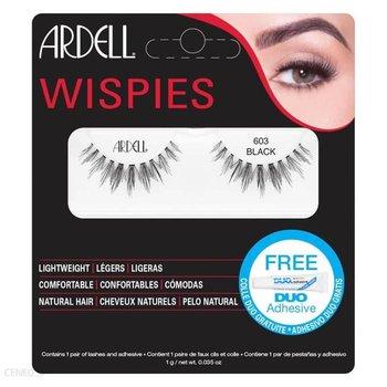 Ardell, Wispies, sztuczne rzęsy 603 Black, 1 para-Ardell