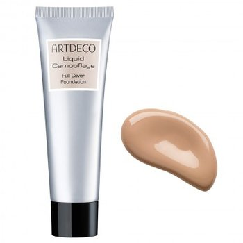 Artdeco, Liquid Camouflage Full Cover, mocno kryjący podkład 12 Light Apricot, 25 ml-Artdeco
