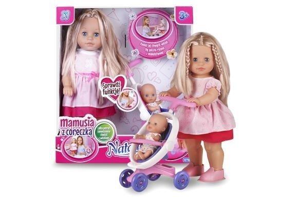 Artyk, lalka Natalia Mamusia z córeczką - Artyk