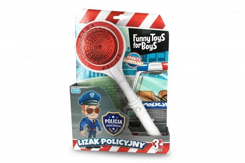 Artyk, lizak policyjny Toys For Boys - Artyk
