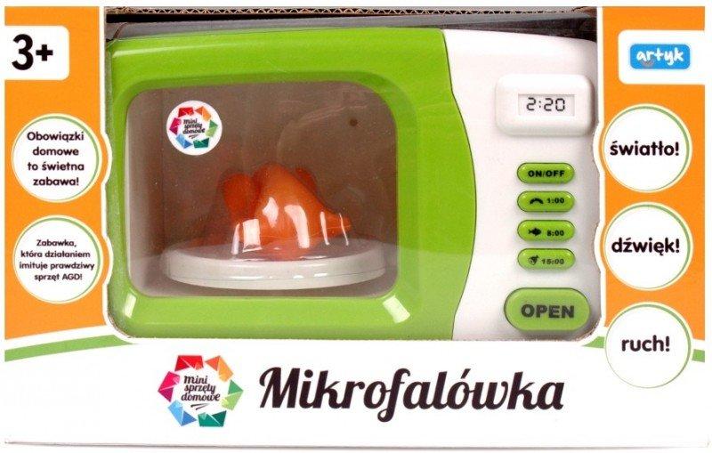 Artyk, mikrofalówka do zabawy