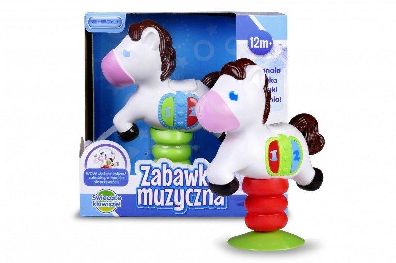 Artyk, zabawka interaktywna Muzyczny konik - Artyk