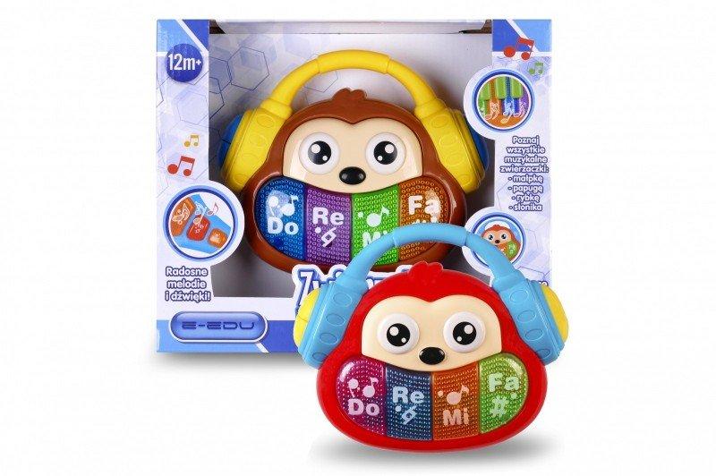 Artyk, zabawka interaktywna Zwierzątko muzyczne - Małpka - Artyk