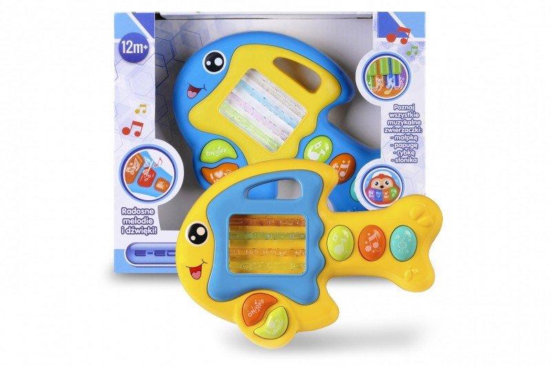 Artyk, zabawka interaktywna Zwierzątko muzyczne - Rybka - Artyk