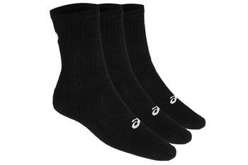 Asics 3PPK Crew Sock 155204-0900, Kobieta/Mężczyzna, skarpetki, Czarny-Asics