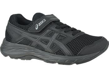 Asics Contend 5 PS 1014A048-002, dla dzieci, buty do biegania, Czarny-Asics