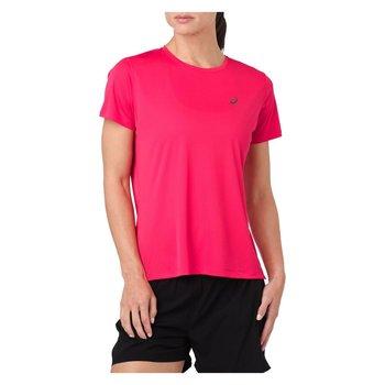 Asics, Koszulka damska, Silver SS 2012A029, różowy, rozmiar S-Asics