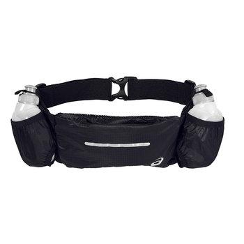 Asics, Pas biodrowy, Runners Bottlebelt U 3013A148-014, czarny, 85-120 cm -Asics