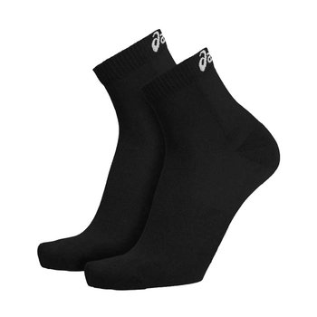 Asics, Skarpety, Sport Socks 2 pary 679954 0900, czarny, rozmiar 35/38-Asics