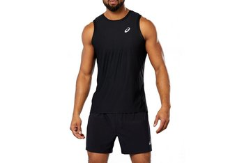 Asics Sport Singlet 164639-0904, Męskie, t-shirt, Czarny-Asics