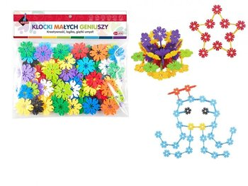 Askato, klocki konstrukcyjne Kwiatki