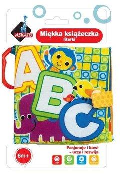 Askato, miękka Książeczka Literki-ASKATO