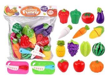 Askato, zabawka edukacyjna Warzywa i owoce do krojenia
