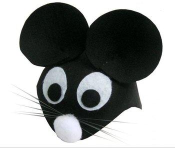 Aster, czapka Myszka czarna-Aster