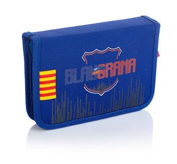 Astra, piórnik szkolny, FC Barcelona Barca Fan 7, FC-235-FC Barcelona