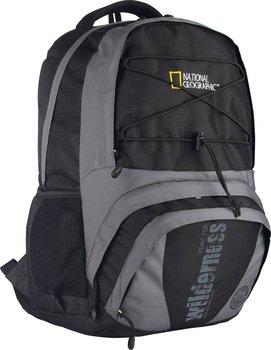 Astra, plecak szkolny, National Geographic, czarno-szary-Astra