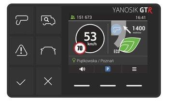 Asysten kierowcy YANOSIK GTR-Yanosik