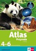 Atlas. Przyroda z klasą 4-6. Szkoła podstawowa-Opracowanie zbiorowe