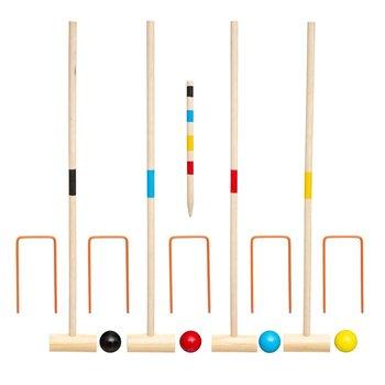 Atmosphera for kids, zestaw do gry w krykieta, drewniany-Atmosphera for kids