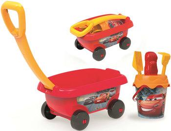 Auta, wózek i wiaderko z akcesoriami do piasku, 867000-Auta