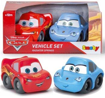 Auta, zestaw pojazdów Zygzak i Sally-Auta