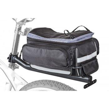 Author, Sakwa na bagażnik LitePack 9 X7 + bagażnik na szycę, czarna, 11l-Author