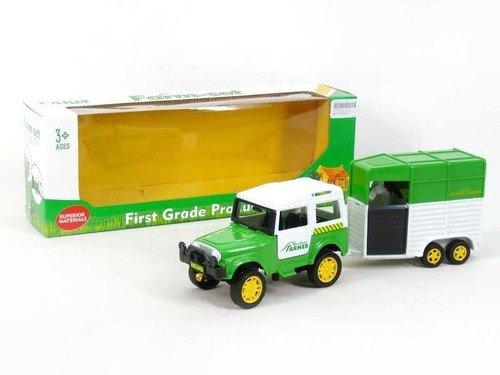 Auto z przyczepką Farm-set