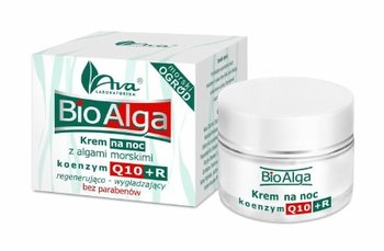 AVA, Bio Alga, krem na noc Q10+R, 50 ml-AVA